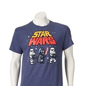 Disney Star Wars Imperial Army Pixelated T-Shirt